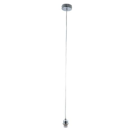 Chrome effect plate Pendant Light BX61807-17 by Endon (Class 2 Double Insulated)